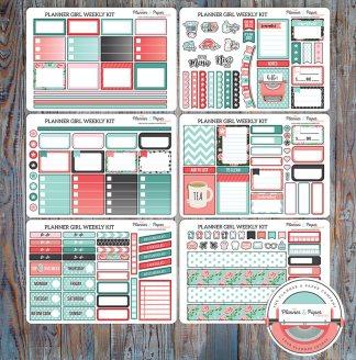 Planner Girl Weekly Planner Sticker Kit