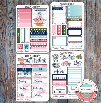 May Mini Planner Sticker Kit