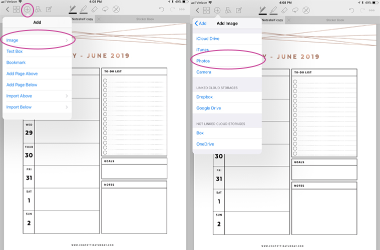 picture about Software to Create Planner Pages known as How in direction of Crank out and Retain the services of a Electronic Planner - Planner Manager