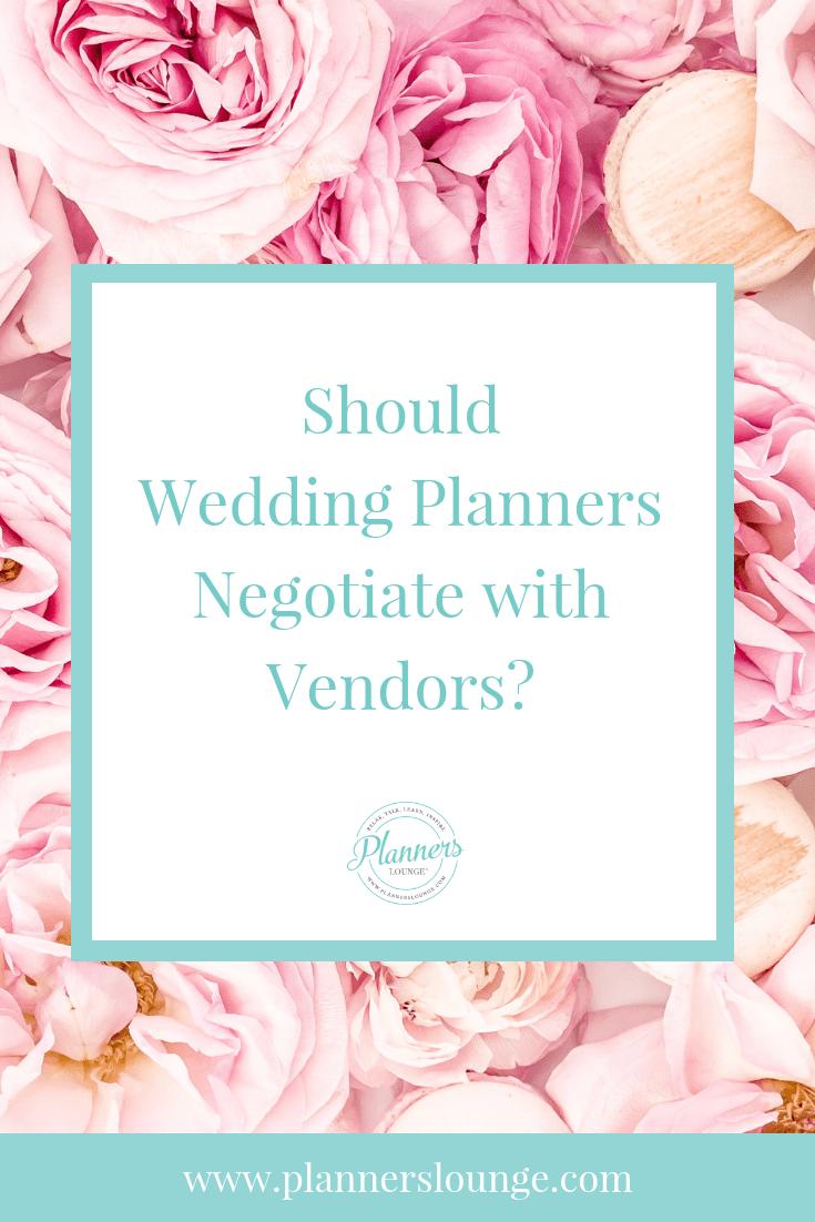 Negotiating with Wedding Vendors
