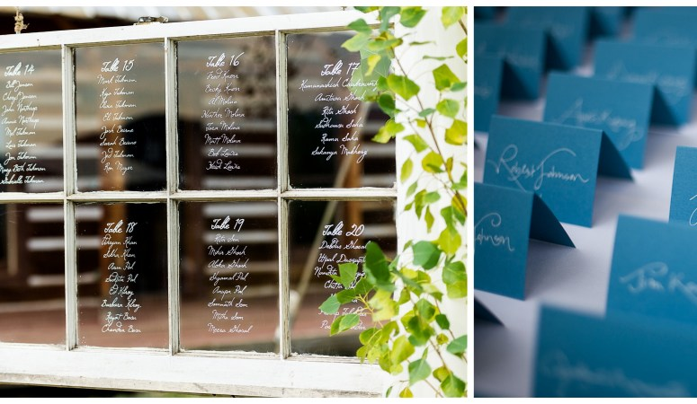 wedding guest seating options