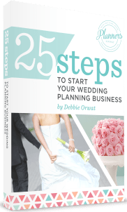 Start your wedding planning business book