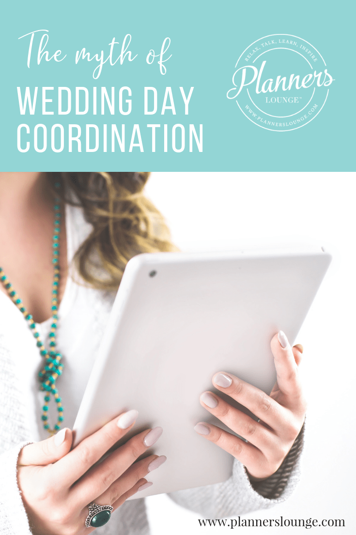 Wedding Day Coordination includes so much more than just services on the wedding day. Learn why calling it this is hurting your wedding planning business and what to do to fix it. {via Planner\'s Lounge}