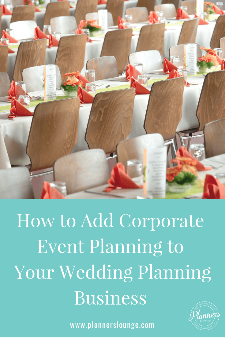 For Wedding Planners: Learn How to Break Into Marketing and Planning Corporate Events from Planner\'s Lounge.