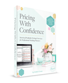 Complete pricing guide for wedding planners