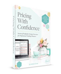 pricing guide for wedding planners