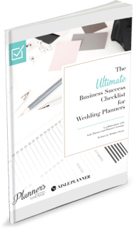 The ultimate guide and checklist for smart wedding planners from the experts at Planner's Lounge