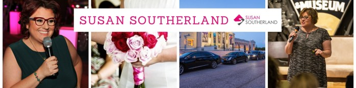 Connect with wedding expert Susan Southerland