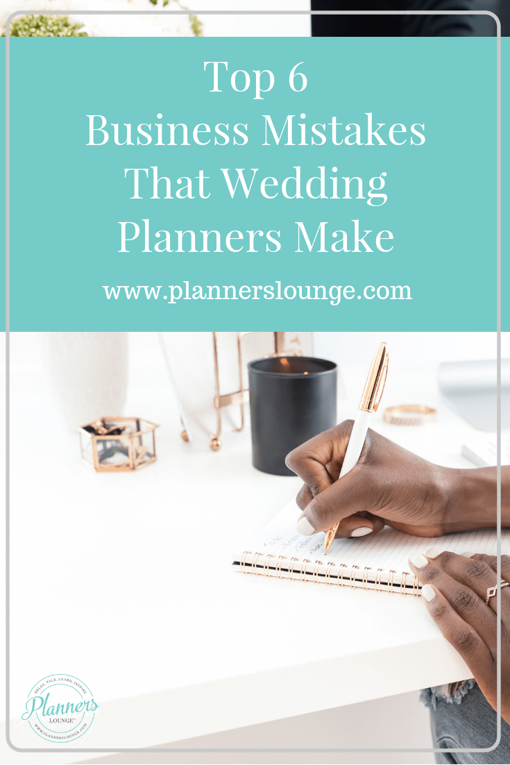 6 Mistakes That Wedding Planners Make and How to Fix Them