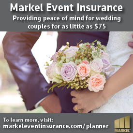 event insurance for weddings