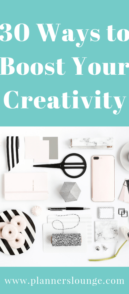 30 ways to boost your creativity as a wedding and event planner (from Planner's Lounge)