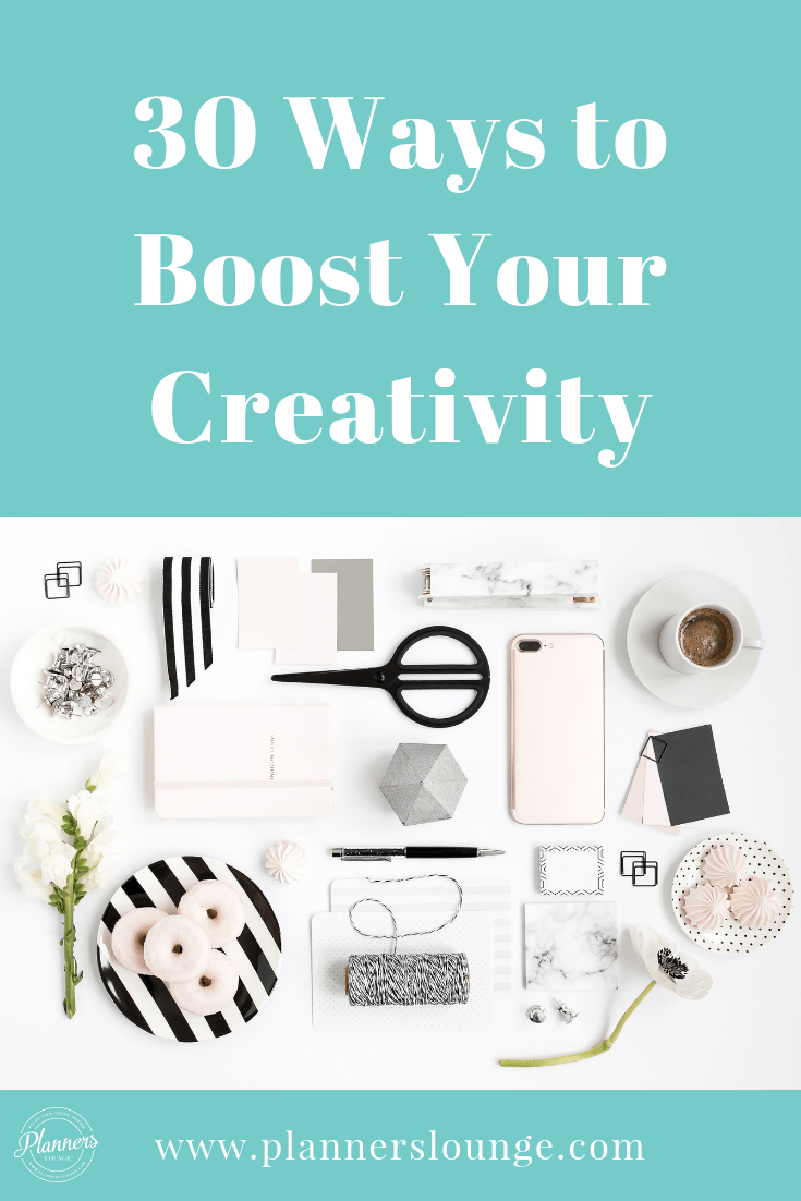 Wedding Planners: If you're feeling tired, stuck, and in need of an energy boost to inspire your creative heart and mind, here are 30 ideas for you from Planner\'s Lounge! These will help clear your head and get your mind and body in creative mode so that you are ready for busy wedding season.