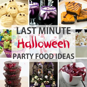 Be inspired planning to succeed for Last minute party food