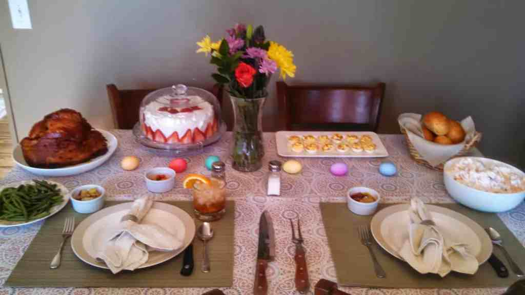 Easter Meal