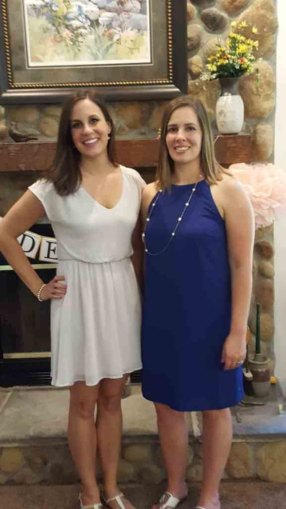 Bride-to-be and Maid of Honor
