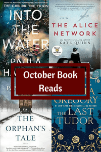 October book covers