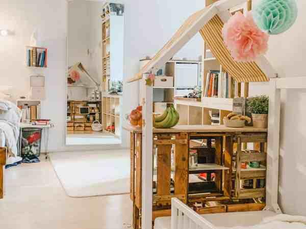 Kaufladen am Hausbett, diy, planningmathilda