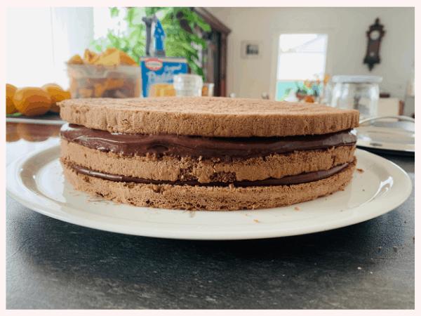 einfacher Geburtstagskuchen, Schokoladenkuchen, planningmathilda