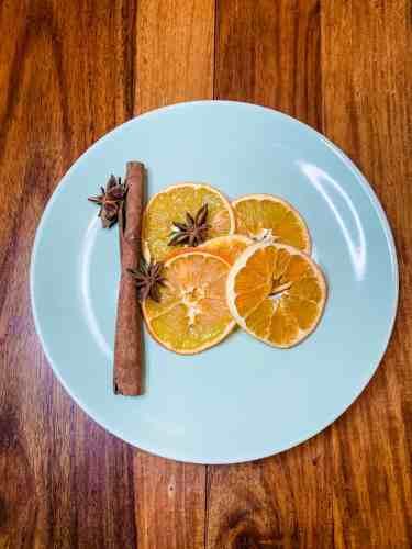 Orangen trocknen, Orangenpulver, Zitronenpulver, planningmathilda, Weihnachtsdeko