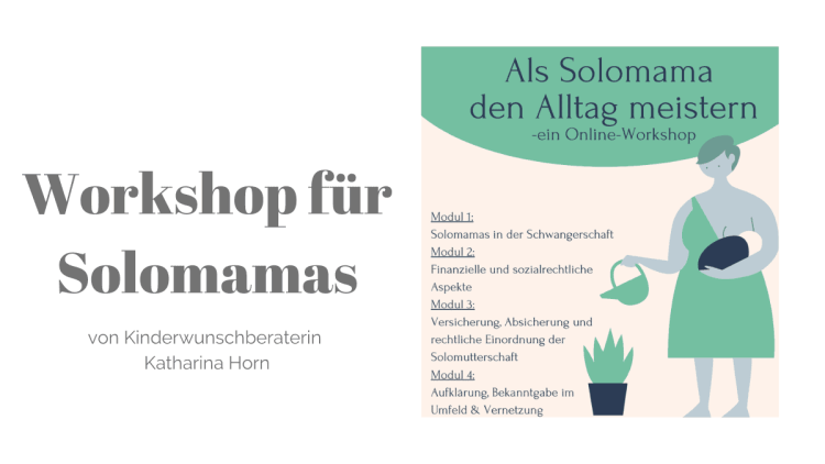 Workshop für Solomamas, Katharina Horn