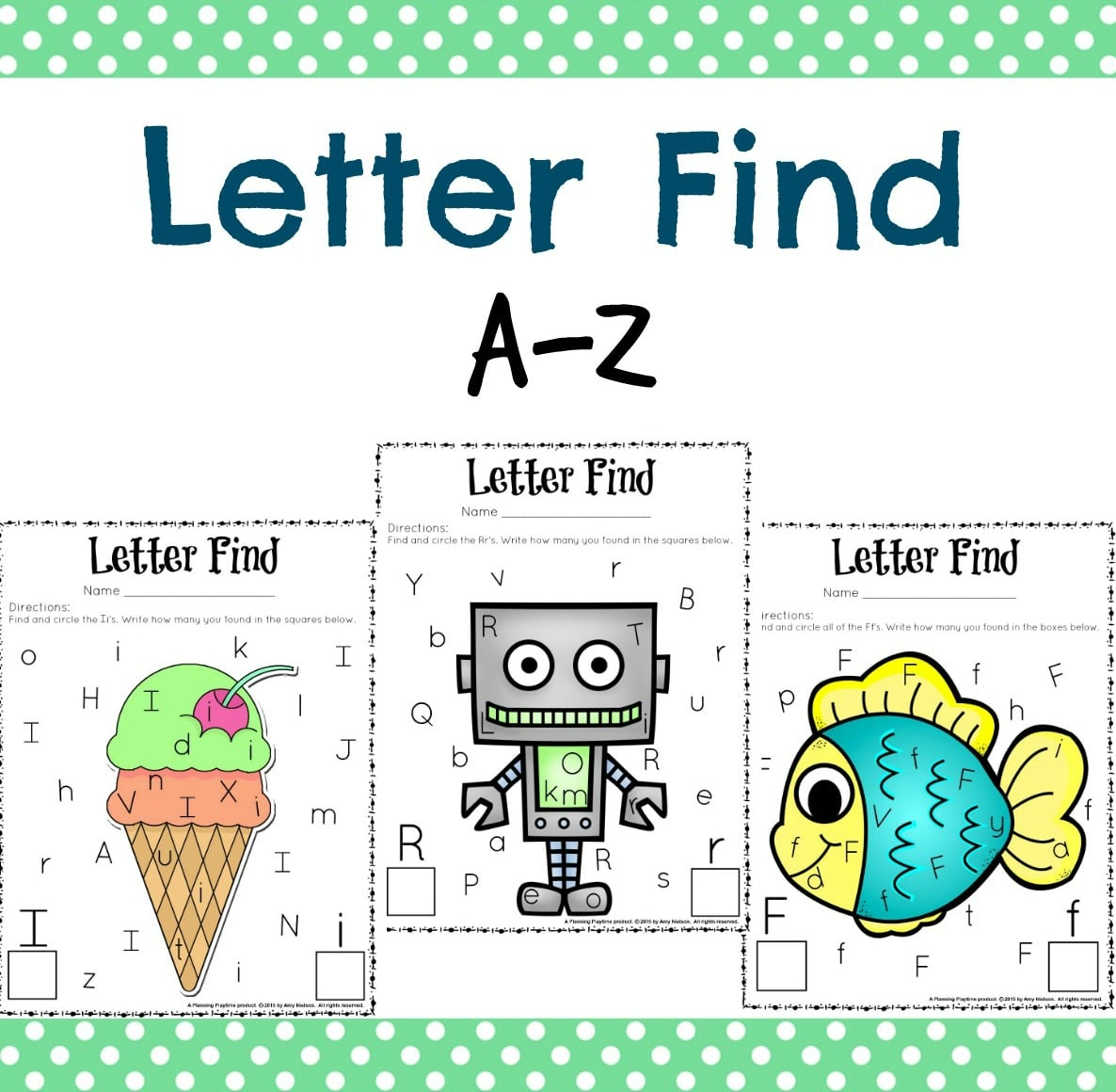 Kindergarten Worksheet Finding R