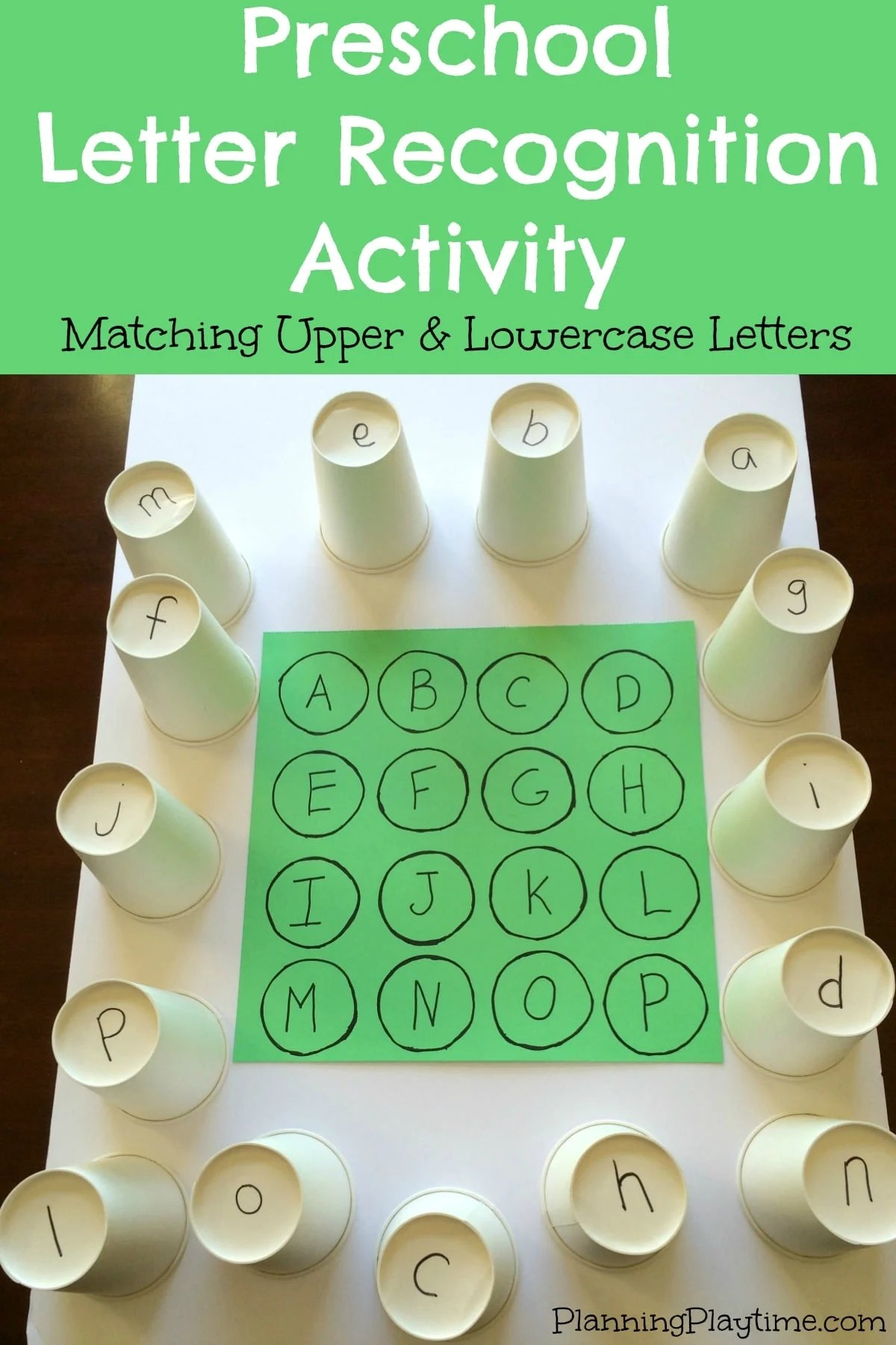Letter Recognition For Preschoolers