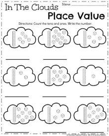 April Kindergarten Worksheets - Spring Math