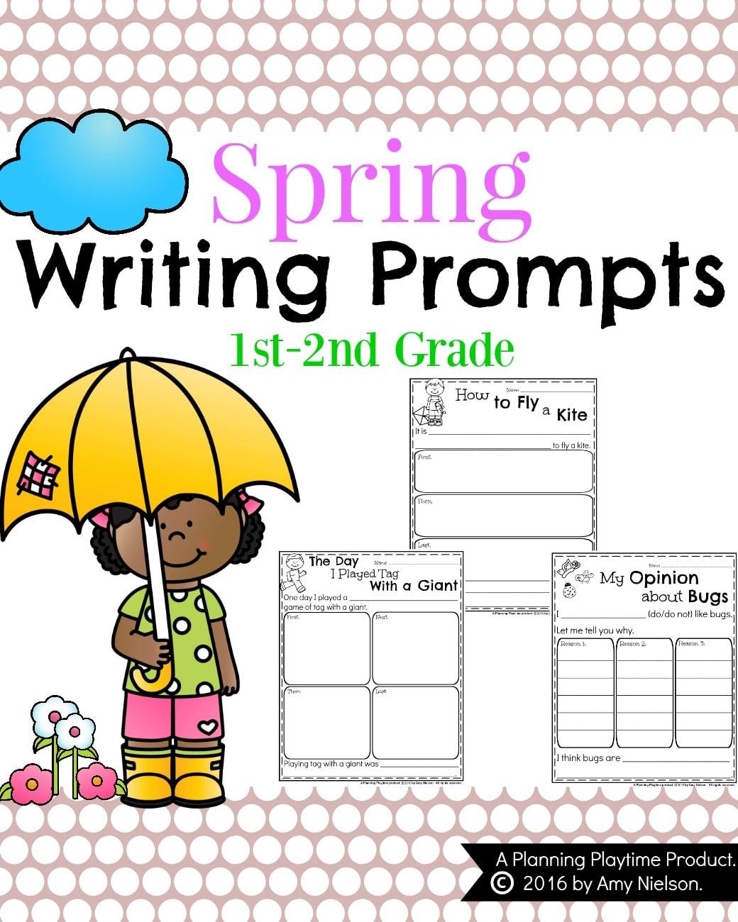 1st Grade Writing Samples