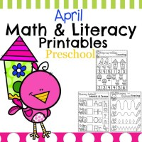 Spring Preschool Worksheets