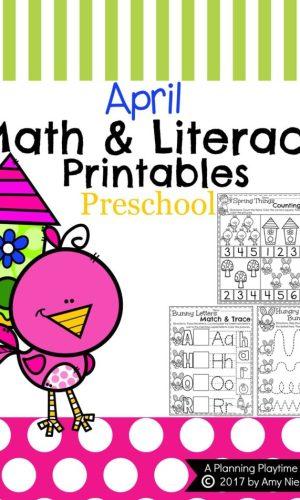 Back To School Preschool Worksheets Planning Playtime