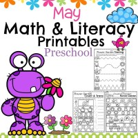 May Preschool Worksheets