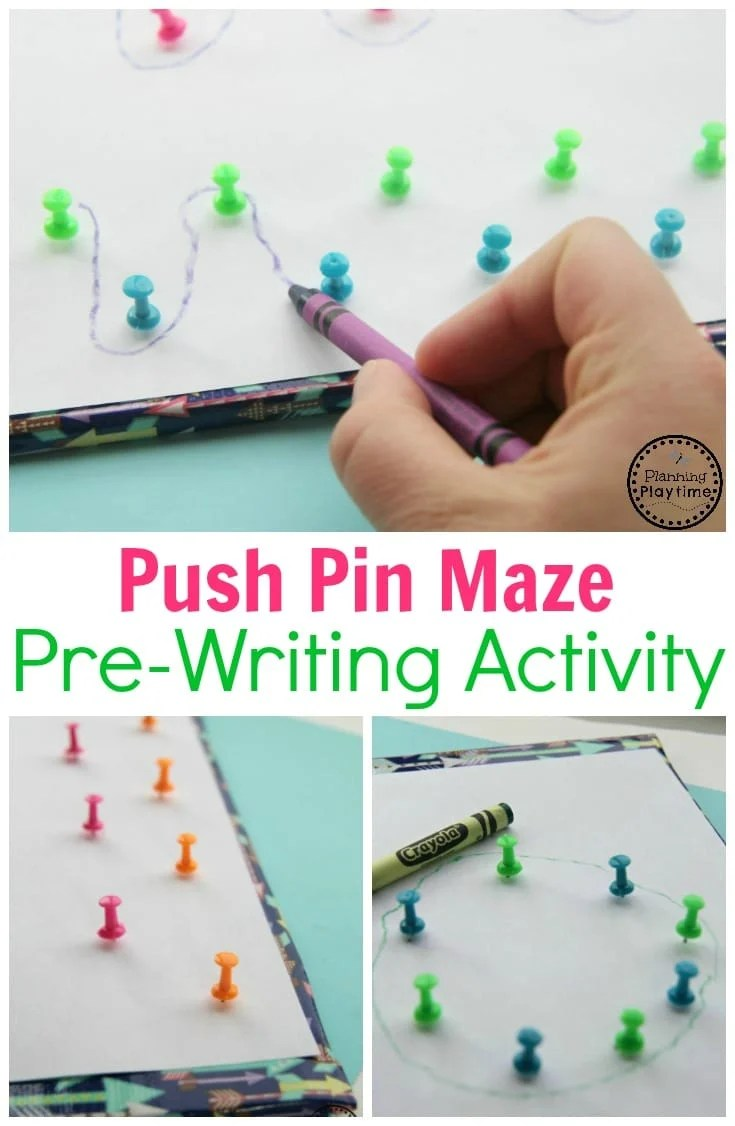 Pre-Writing Activity for Kids