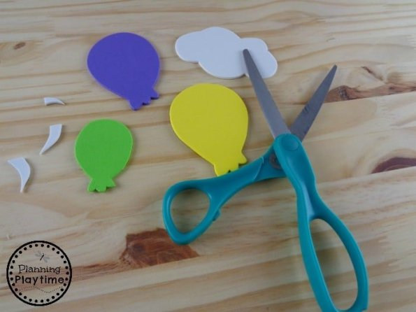 Balloons for Letter B Craft