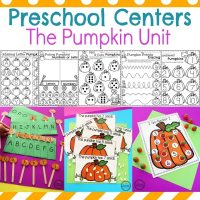 Pumpkin Preschool Activities