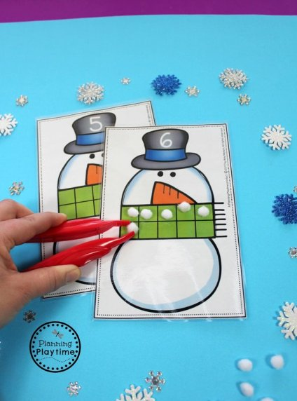 Fun Counting Activity for Preschool