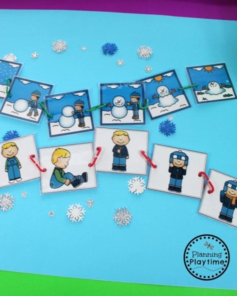 Winter Sequence Story Cards