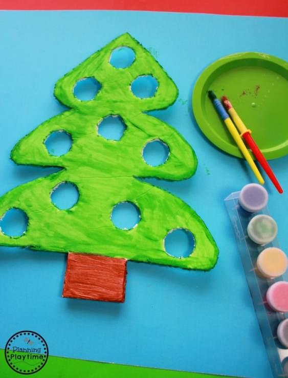 Christmas Counting Activity Idea for Kids.