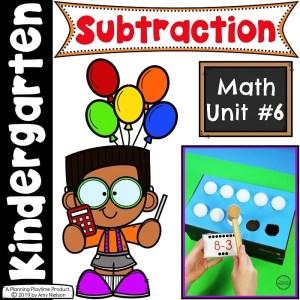 Kindergarten Math - Subtraction
