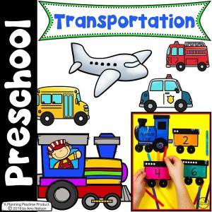 Transportation Theme - Preschool