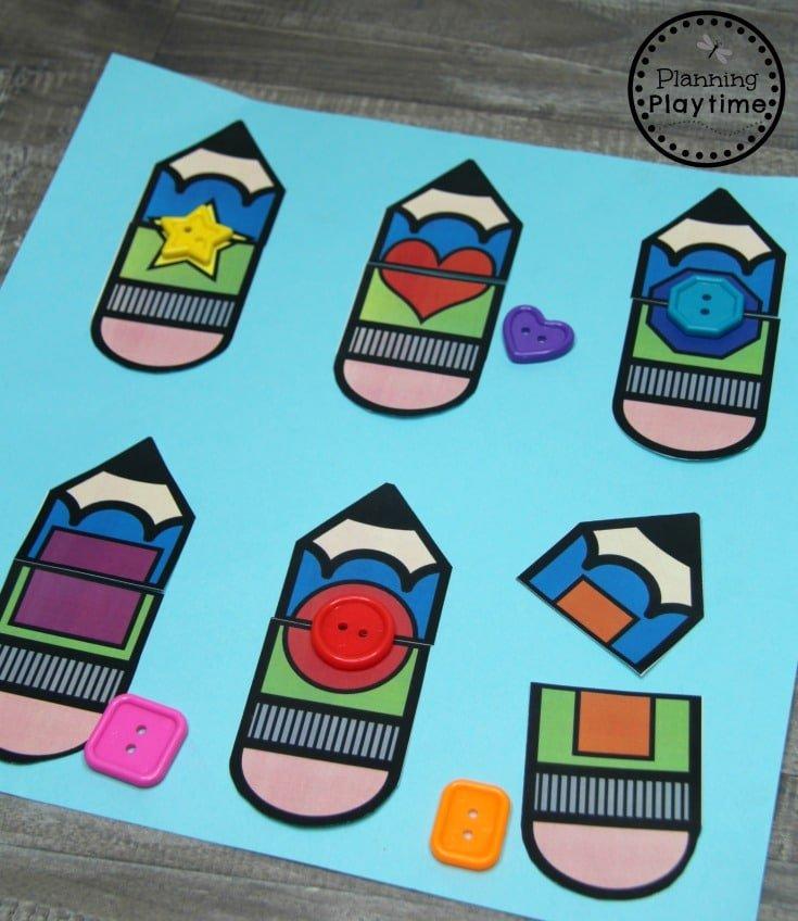 Shape Puzzles for Preschool