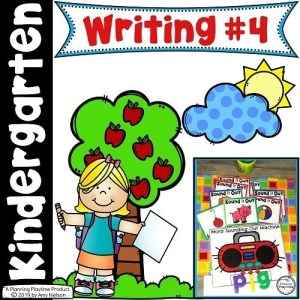 Kindergarten Writing - Informational Writing Prompts and Organizers #writingprompts #writingworksheets #kindergarten #planningplaytime