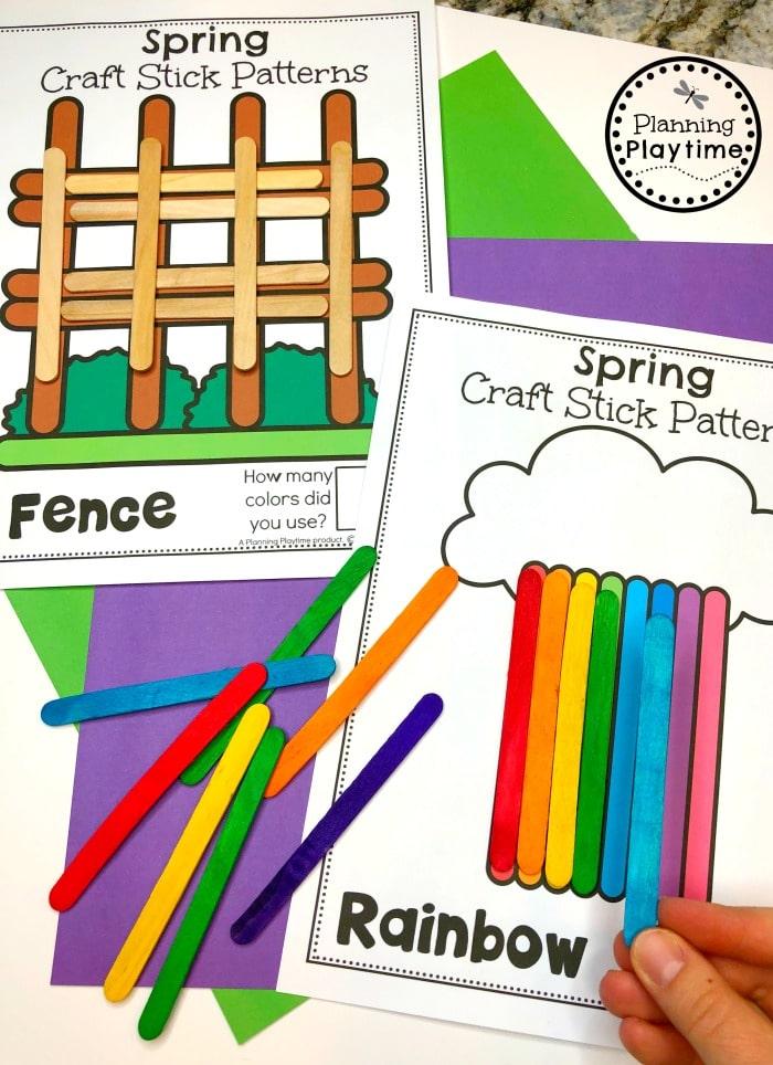 Spring Preschool Activities and Centers
