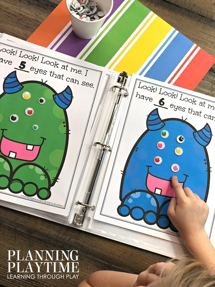 Counting Activities for Preschool Math