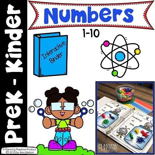Numbers - Math Activities for Preschool or Kindergarten (4)