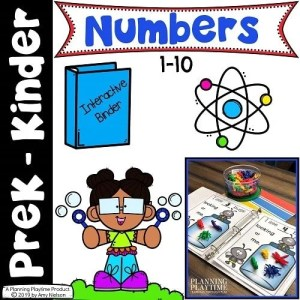 Numbers - Math Activities for Preschool or Kindergarten (4)