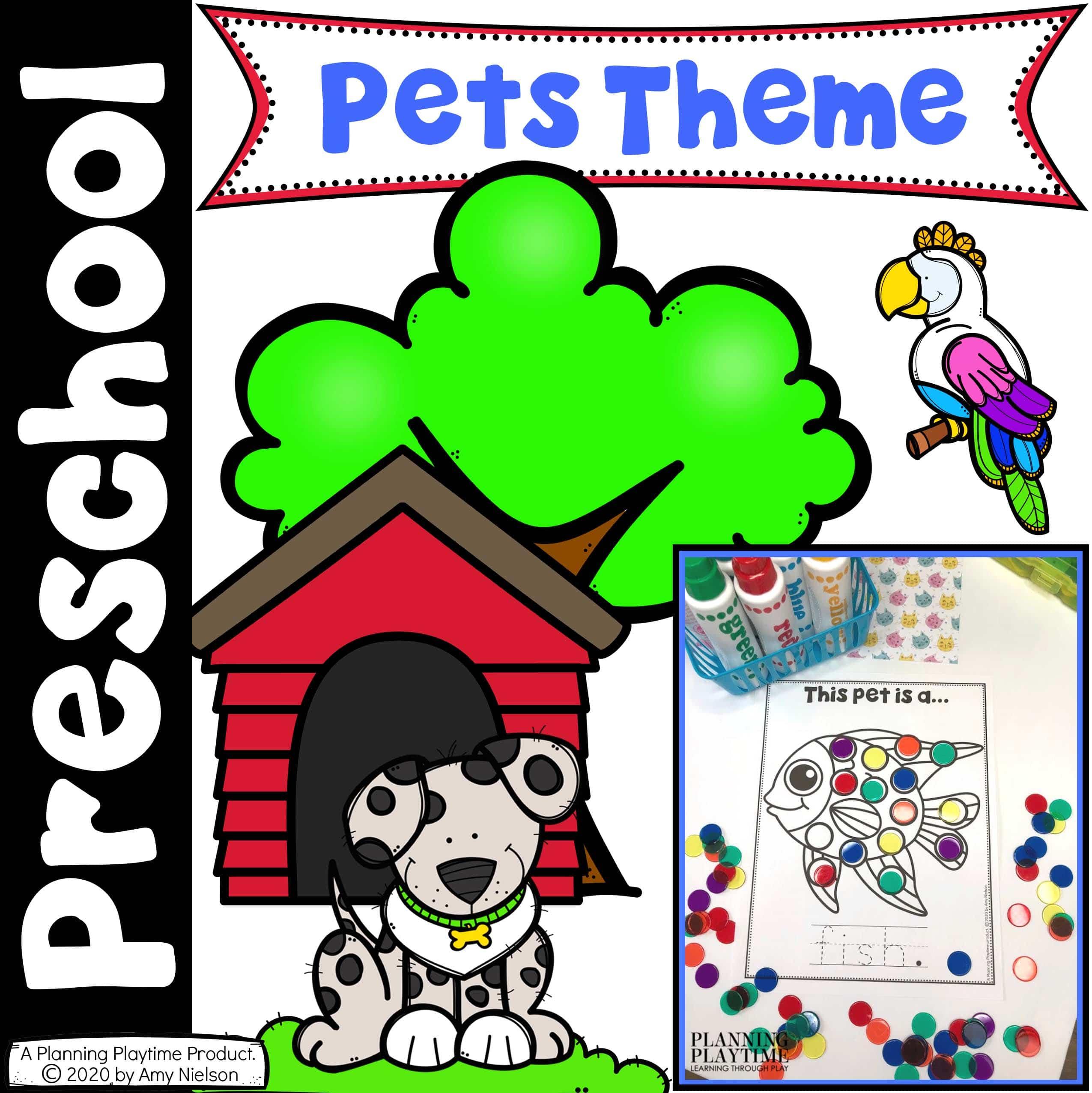 Pet Activities For Preschool