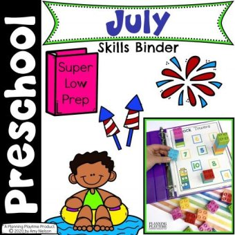 July Binder Cover