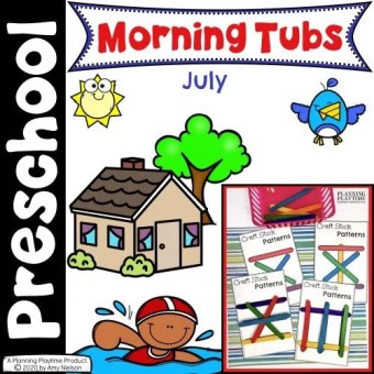 Morning Tubs - July cover