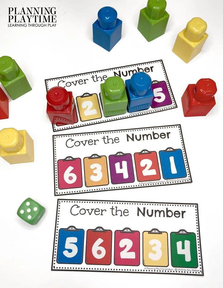 Math Activities for Preschool - Counting