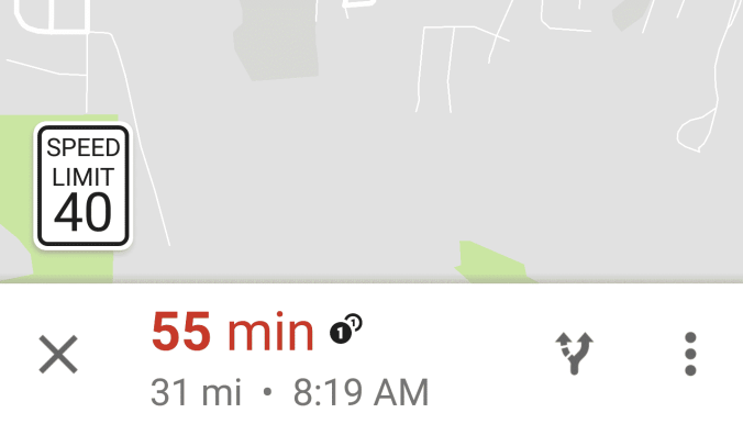 google-maps-speed-limit-feature-user-screenshot